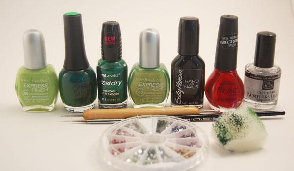 [تصویر:  Ladybug-nail-art-tutorial-8.jpg]