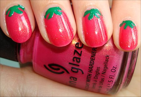 [تصویر:  Strawberry-Nail-Art-Tutorial-Swatches.jpg]